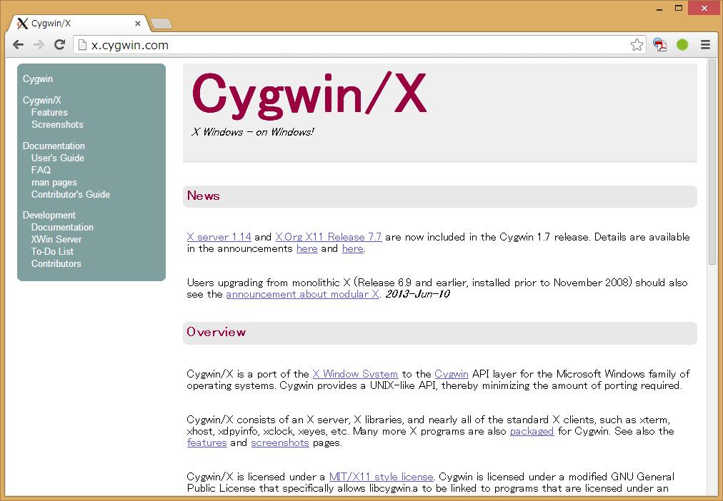 3.3 CygwinによるX Window利用 [...